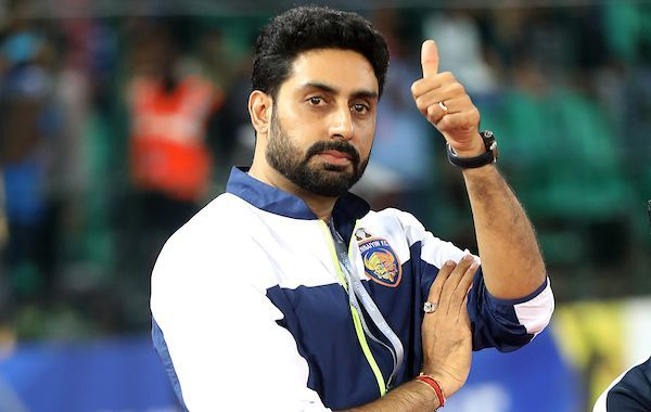 Abhishek Bachchan, Chennaiyin FC co-owner (Image: ISL Media)