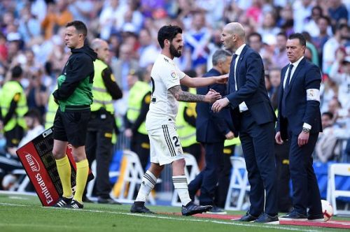 Real Madrid won 2-0 on Zidane's second debut