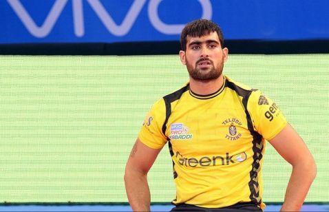 Image result for rahul chaudhary pro kabaddi league
