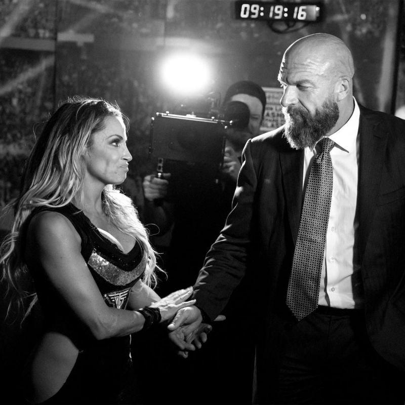 Triple H and Trish Stratus
