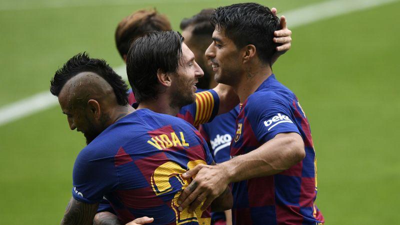 Photo of Suarez annoyed as Barcelona let slip late lead at Celta Vigo