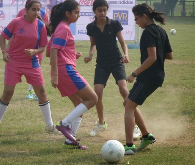 Godrej Eon School Girls Soccer Festival 1