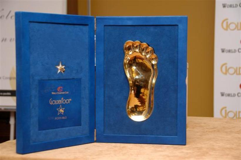 Image result for Golden Foot Award