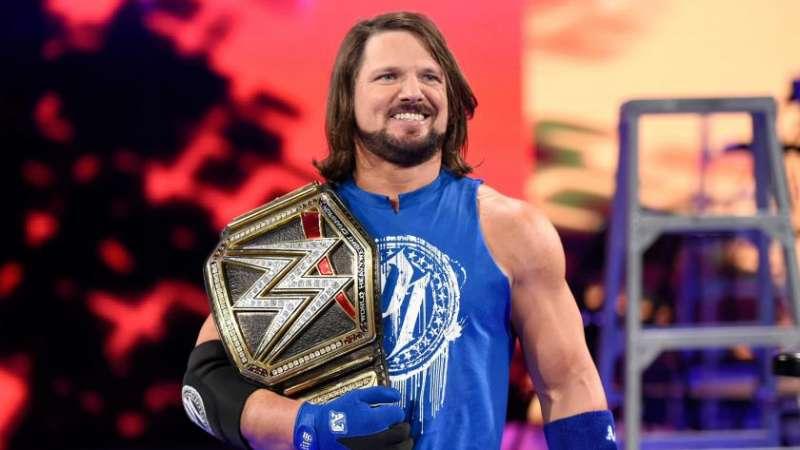 WWE Superstar AJ Styles