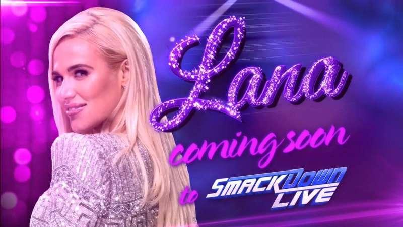 Smackdown Live Lana Wwe 2017