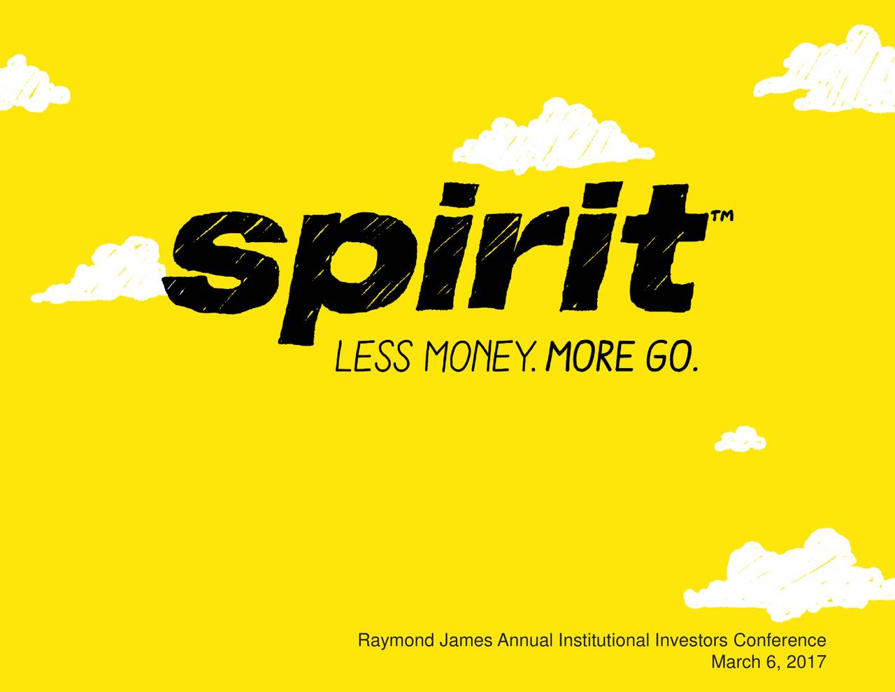 Spirit Airlines (SAVE) Presents At The Raymond James 38th ...