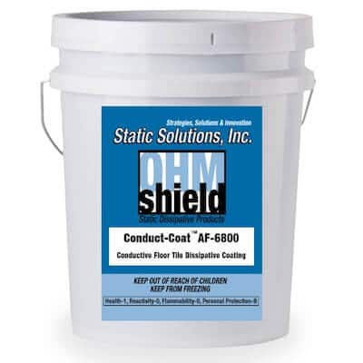 5 Gallon ESD Conductive dissipative floor coating