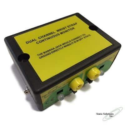 ESD Constant Monitor two wrist strap CM-1703 top