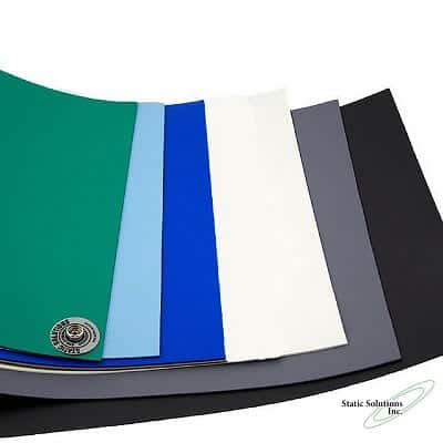 anti static table mat in several colors