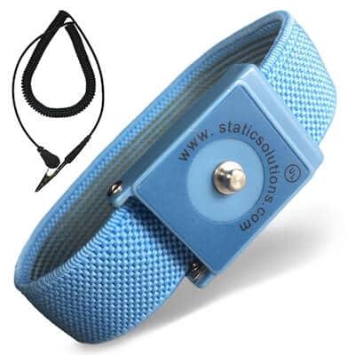 WS1020 ESD Wrist Strap and Coil Cord