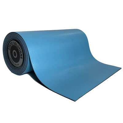 ESD mat mats and rolls in light blue