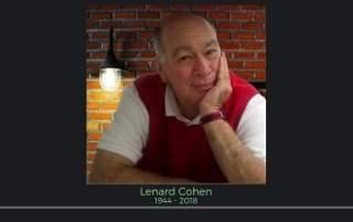 Lenard Cohen Anti Static ESD