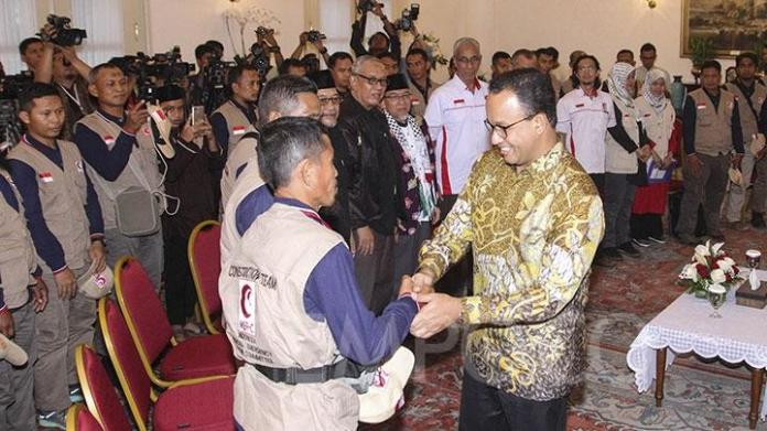 Image result for anies baswedan relawan gaza