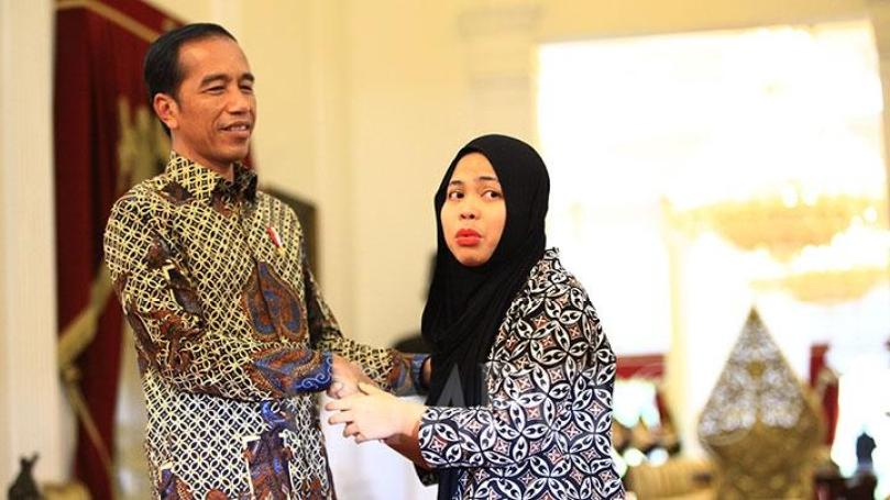 Image result for siti aisyah jokowi