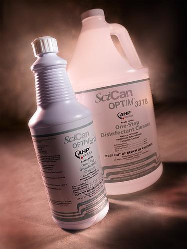 OptIM disinfectant cleaner
