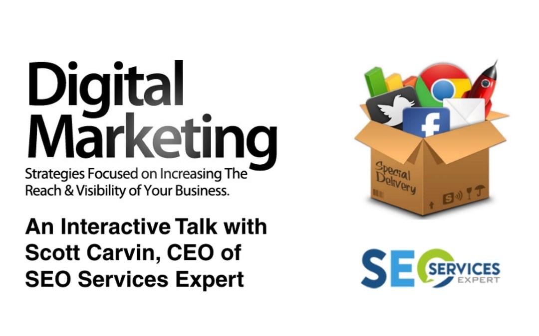 Network & Learn with Scott Carvin – Digital Marketing & SEO in 2016