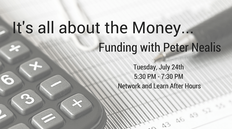 It's all about the Money – Funding with Peter Nealis