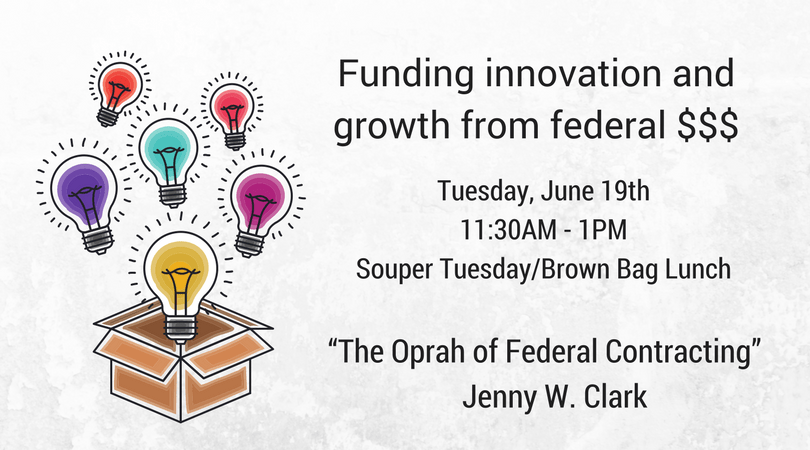 Jenny Clark – Funding innovation and growth from federal $$$