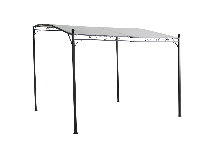 Metal Wall Gazebo Awning Canopy Pergola Shade Marquee