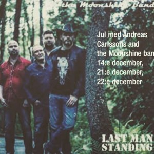 Jul med Andreas Carlsson and the Moonshine band @ Stationen Norsesund