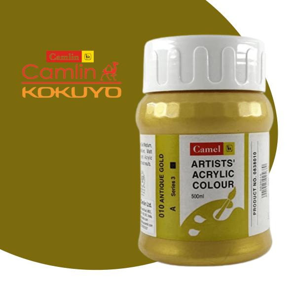 Camel Artist Acrylic Colours 500 ml