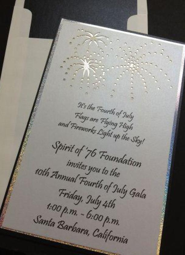 15. July 4th Firework Invitation