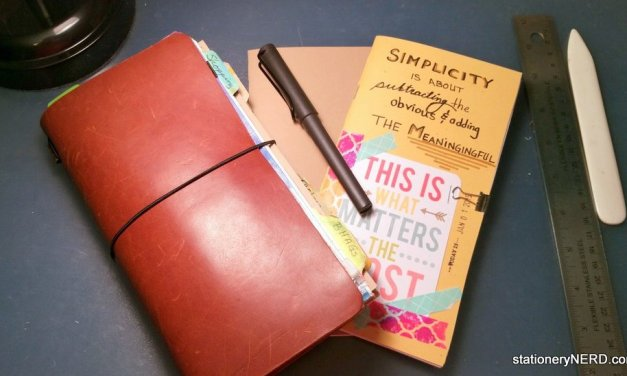 DIY: How to Make Midori Travelers Notebook Inserts