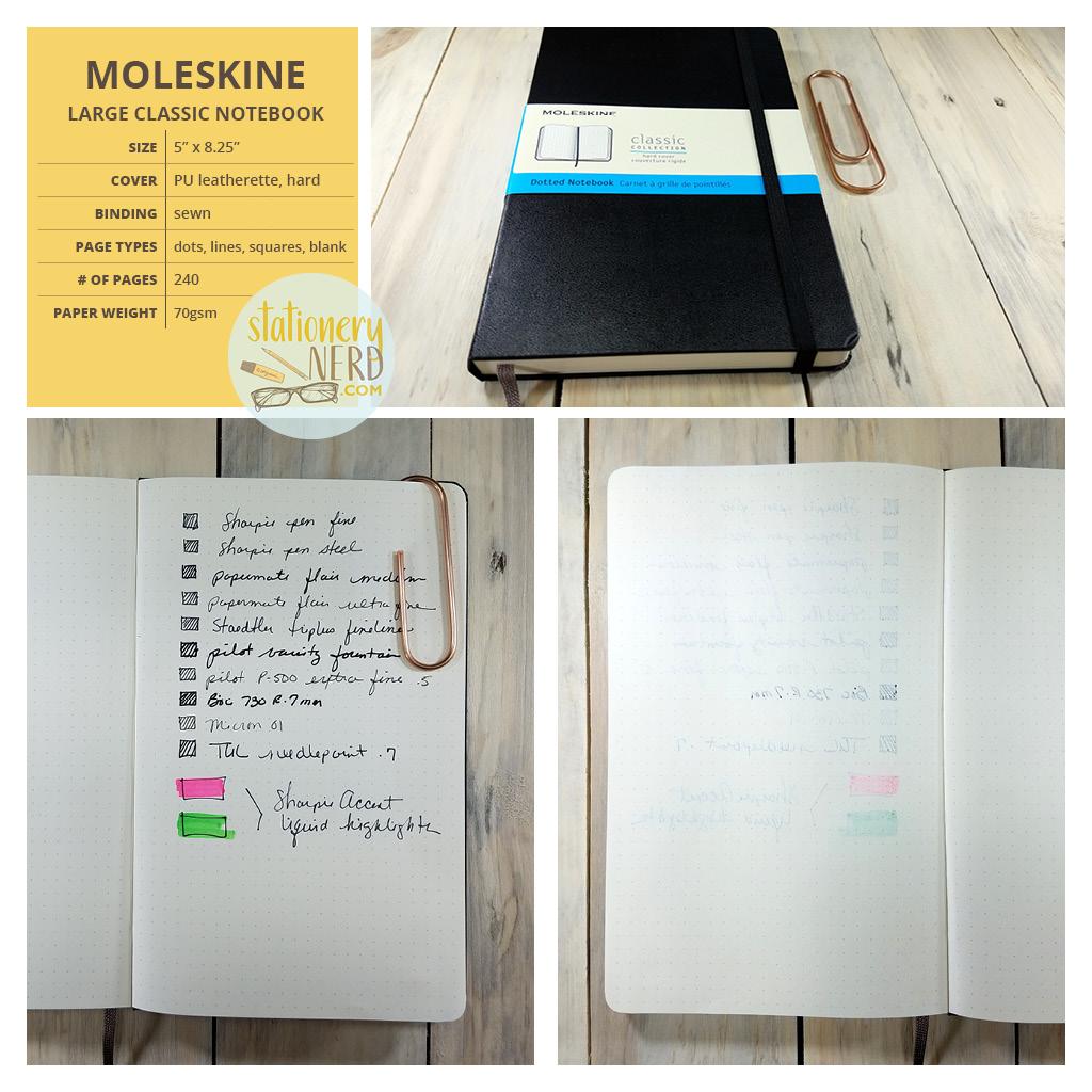 StationeryNerd_Moleskine Journal Review