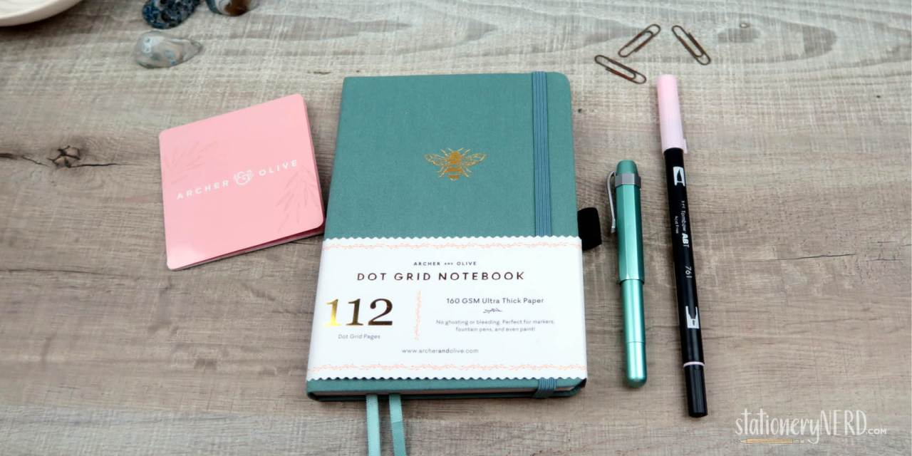 Archer & Olive 160gsm Dotted Notebook Review
