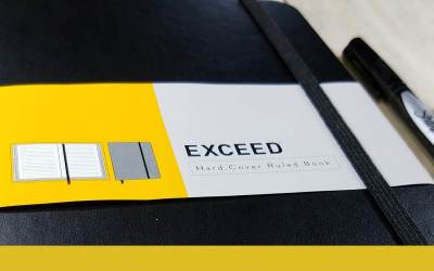 Exceed Hardcover Notebook