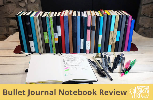 Bullet Journal Notebook Review