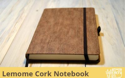 Lemome Natural Cork Notebook