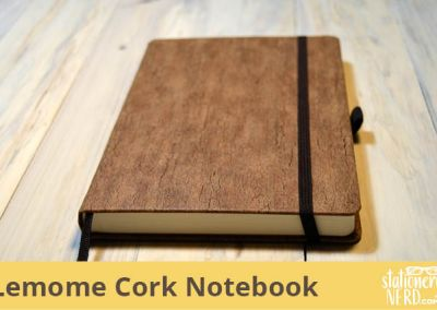 Lemome Eco-Friendly Natural Cork Notebook