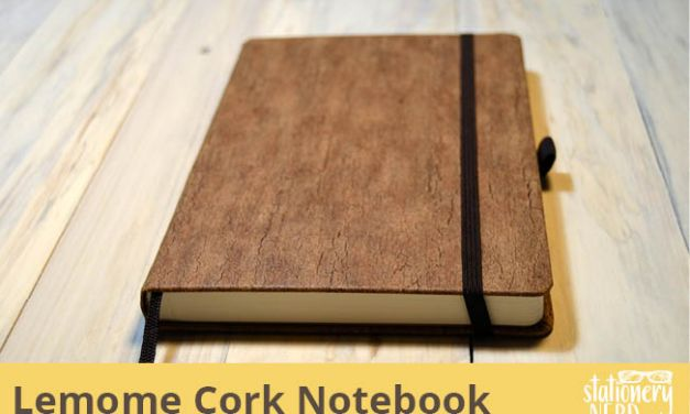Lemome Natural Cork Notebook