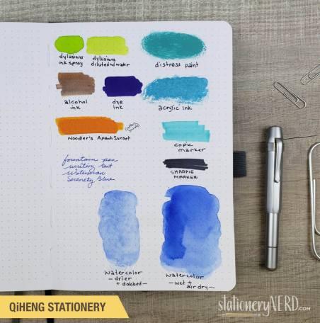 QiHeng art supply test page