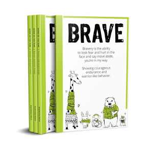 Word of the Year Planner BRAVE