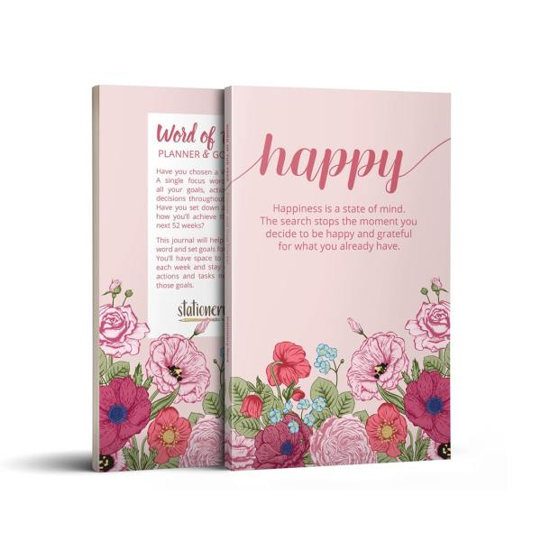 Word of the Year Planner HAPPY