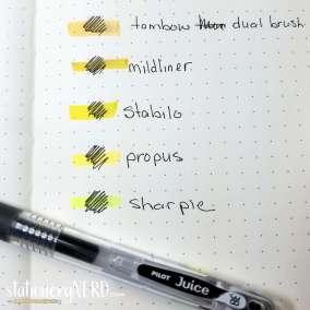 Pilot Juice Pen Review Image