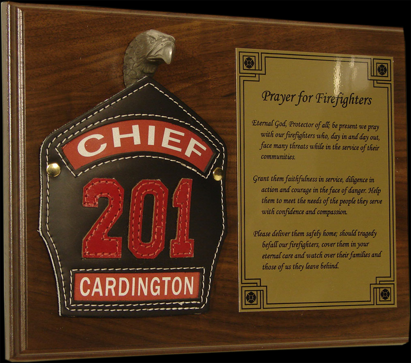 Firefighter Plaques Gifts Gift Ftempo