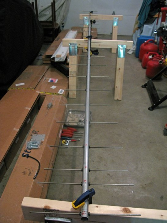 70 cm Yagi Boom and Elements
