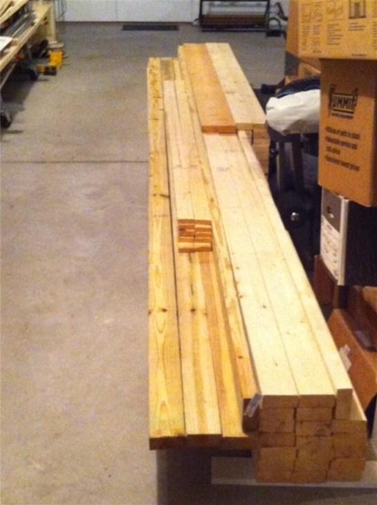 Lumber for Framing