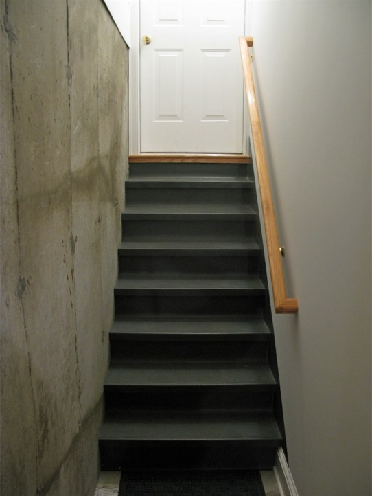 Stairwell from Shack to House