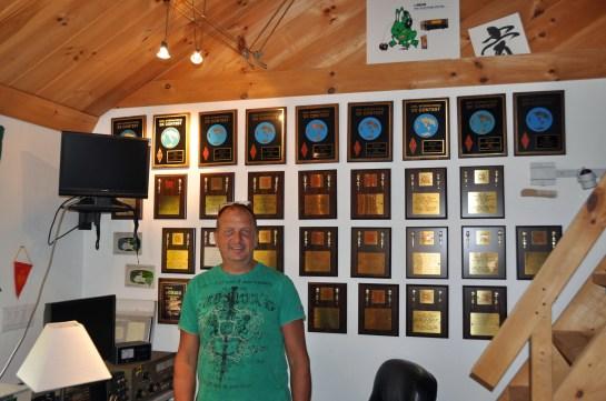 Matt Strelow, Proud Owner of KC1XX