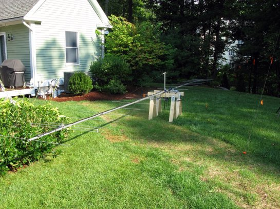 Completed 2M Yagi