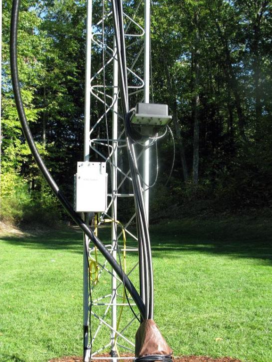 Electronics at Tower Base