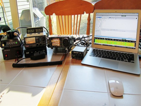 Portable Digital HF Station