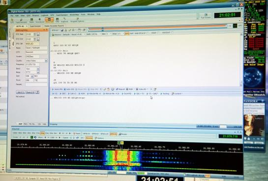 RTTY QSO In Contest