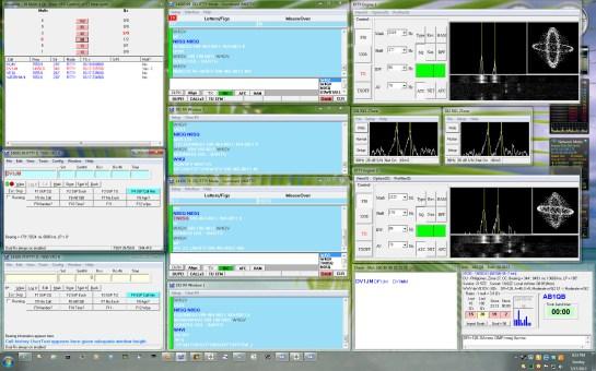 N1MM Setup - Left Monitor