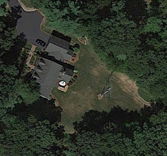 Our Tower From Space (Courtesy Google Maps)
