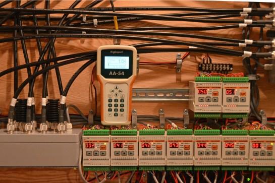 Antenna Switch Matrix SWR Test